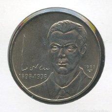 Monedas antiguas de América: CUBA, MONEDA, FEDERICO GARCIA LORCA, VALOR: 1 PESO, 1993. Lote 206589948