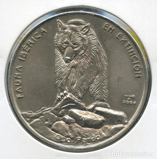 CUBA, MONEDA, FAUNA IBÉRICA EN EXTINCIÓN, VALOR: 1 PESO, 2004 (Numismática - Extranjeras - América)