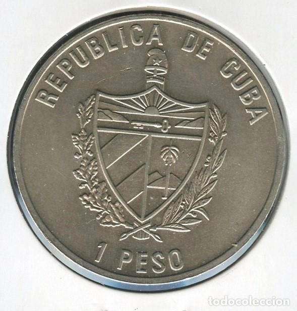 Monedas antiguas de América: CUBA, MONEDA, FAUNA IBÉRICA EN EXTINCIÓN, VALOR: 1 PESO, 2004 - Foto 2 - 206592583