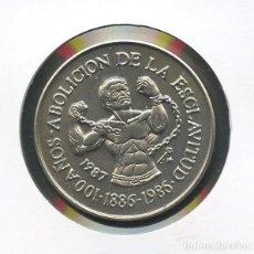 Monedas antiguas de América: CUBA, MONEDA, ABOLICION DE LA ESCLAVITUD, VALOR: 1 PESO, 2004. Lote 206595497