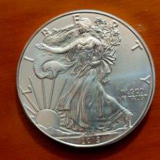 Monete antiche di America: MONEDA 1 DOLLAR 2019 USA EAGLE PLATA PURA 1 ONZA CAPSULA. Lote 206940541