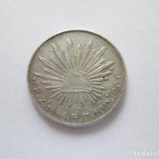 Monedas antiguas de América: MEXICO * 8 REALES 1896 FZ ZACATECAS * PLATA. Lote 207038076