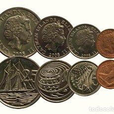Monedas antiguas de América: SERIE DE MONEDAS DE LAS ISLAS CAYMAN 2008, SC. Lote 240841610
