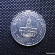 Moedas antigas da América: ARGENTINA 25 CENTAVOS 1996. Lote 207277437