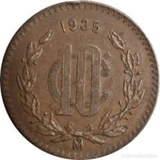 Monedas antiguas de América: MÉXICO (ESTADOS UNIDOS MEXICANOS). 10 CENTAVOS DE 1935. (118).. Lote 207323217