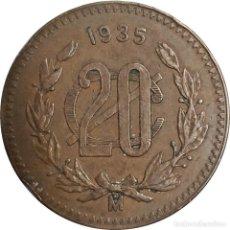 Monedas antiguas de América: MÉXICO. 20 CENTAVOS DE 1935. (119).. Lote 207324636