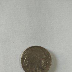 Monedas antiguas de América: MONEDA DE CINCO CENTAVOS. FIVE CENTS. NICKEL. USA. INDIO Y BÚFALO O BISONTE. LIBERTY. 1936.. Lote 207639693