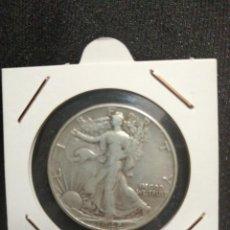 Monedas antiguas de América: MONEDA HALL DÓLAR USA PLATA 1942. Lote 207972273
