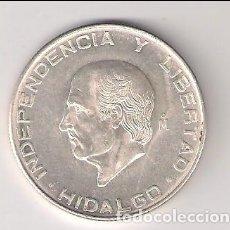 Moedas antigas da América: MONEDA DE 5 PESOS DE MÉJICO DE 1955. PLATA. EBC. (ME325). Lote 208286307