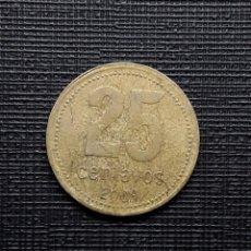 Monedas antiguas de América: ARGENTINA 25 CENTAVOS 2009 KM110A 9 ABIERTO. Lote 208645995