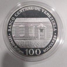 Monete antiche di America: VENEZUELA 100 BOLÍVARES 1983 PLATA. Lote 208848763