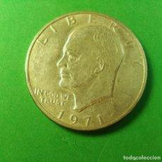 Monedas antiguas de América: !ESTADOS UNIDOS MONEDA 1 DOLAR. 1971 S SAN FRANCICO LA UNICA CECA QUE ACUÑÓ EN PLATA. ONE DOLLAR.. Lote 232537425
