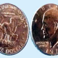 Monedas antiguas de América: EE.UU. MONEDA DE EISENHOWER DE 1 DOLAR DE 1974.EXCELENTE BUENA CONSERVACION. Lote 209619000