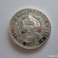 Monedas antiguas de América: CUBA * 10 PESOS 1990 * CRISTOBAL COLON * 1 ONZA DE PLATA. Lote 209721455