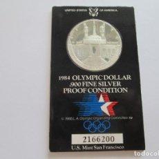 Monedas antiguas de América: ESTADOS UNIDOS * 1 DOLAR 1984-S * OLIMPIADA DE LOS ANGELES * PLATA. Lote 209722160