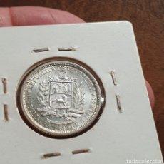 Monedas antiguas de América: VENEZUELA 1 BOLIVAR 1960 PLATA. Lote 209783591