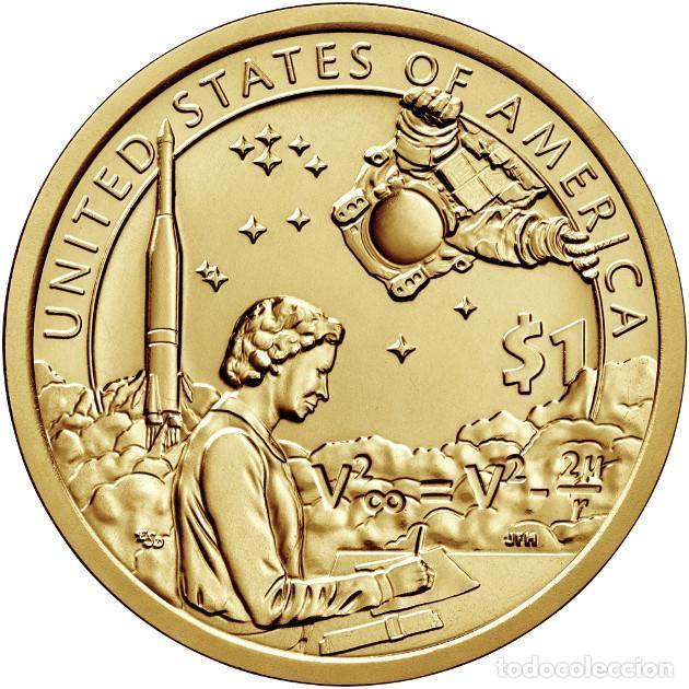 ESTADOS UNIDOS / USA 1 DOLAR 2019 AMERICAN NATIVE MARY GOLDA ROSS P (Numismática - Extranjeras - América)