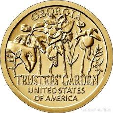 Moedas antigas da América: ESTADOS UNIDOS / USA 1 DOLAR 2019 INNOVADORES AMERICANOS ( JARDIN EXPERIMENTA L) P. Lote 233068940
