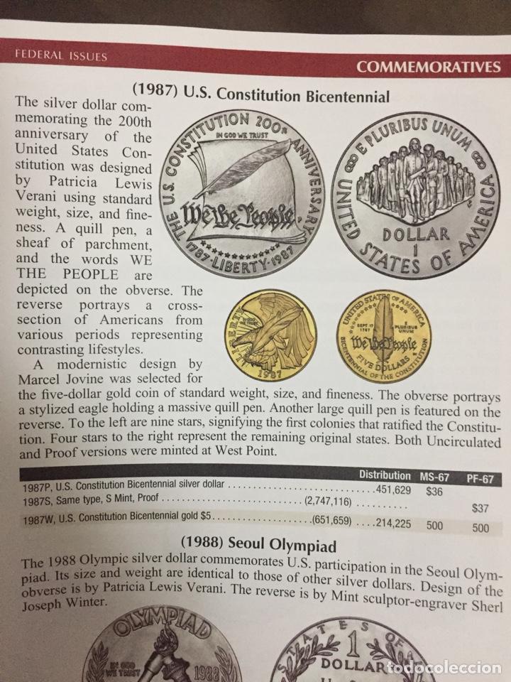 Monedas antiguas de América: Moneda onza plata - Estados Unidos - conmemorativa - proof sin circular (oro escudos pesetas duro) - Foto 3 - 208887797