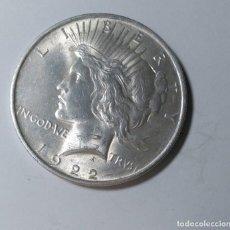 Monedas antiguas de América: ESTADOS UNIDOS UN DOLAR ( ONE DOLLAR) 1922 PLATA USA. CASI SIN CIRCULAR, ¡¡¡LIQUIDACION!!!. Lote 210373465