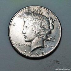 Monedas antiguas de América: ESTADOS UNIDOS UN DOLAR ( ONE DOLLAR) 1925 EBC PLATA USA. , ¡¡¡LIQUIDACION!!!. Lote 210375497
