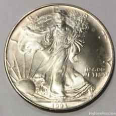 Monedas antiguas de América: DOLAR PLATA 1993. Lote 210377596
