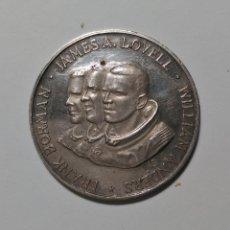 Monedas antiguas de América: ESTADOS UNIDOS MEDALLA 21- 27 DESEMBER 1968 APOLO 8 PLATA 10G 0,900 USA. , ¡¡¡LIQUIDACION!!!. Lote 210380330