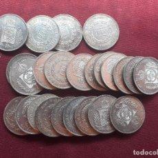 Monedas antiguas de América: BRASIL. LOTE ECONÓMICO. 24 MONEDAS DE 1000 REIS DE PLATA DE 1859 Y 1860. Lote 210394313