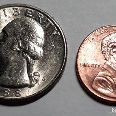 Monedas antiguas de América: 2 MONEDAS ESTADOS UNIDOS. Lote 210394413