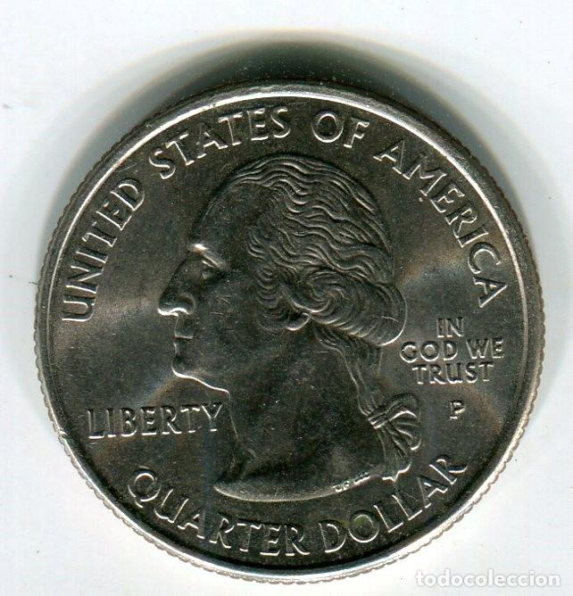 Monedas antiguas de América: ESTADOS UNIDOS QUARTER DOLLAR ESTADO DE MARYLAND AÑO 2000 - Foto 1 - 210830182