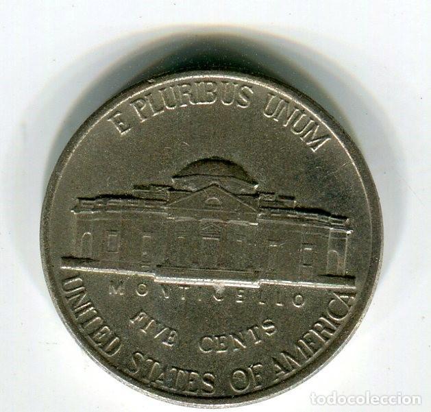 Monedas antiguas de América: ESTADOS UNIDOS FIVE CENTS -CINCO CENTAVOS- AÑO 1988 CECA D - Foto 2 - 210831926
