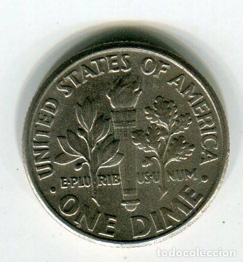 ESTADOS UNIDOS ONE DIME -DIEZ CENTAVOS- AÑO 1988 CECA D (Numismática - Extranjeras - América)