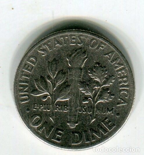 Monedas antiguas de América: ESTADOS UNIDOS ONE DIME -DIEZ CENTAVOS- AÑO 1970 CECA D - Foto 2 - 210832950