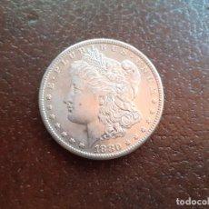 Monedas antiguas de América: ESTADOS UNIDOS. DOLLAR MORGAN 1880. EXCELENTE. Lote 210967084