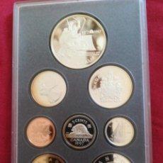 Monedas antiguas de América: SET MONEDAS CANADÁ 1997 PLATA. Lote 211458411