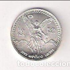 Monedas antiguas de América: MONEDA DE 1/10 ONZA DE MÉJICO DE 1992. SIN CIRCULAR. WORLD COINS-KM#543 (ME804). Lote 211689309