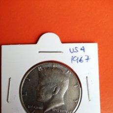 Monete antiche di America: M-190 USA. HALF DOLLAR KENNEDY 1967. PHILADELPHIA. Lote 211988236
