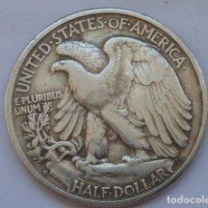 Monedas antiguas de América: MONEDA DE PLATA DE MEDIO DOLAR DE ESTADOS UNIDOS DE 1941 D, CECA DE DENVER. Lote 212143128