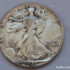 Monedas antiguas de América: MONEDA DE PLATA DE MEDIO DOLAR DE ESTADOS UNIDOS DE 1941 , CECA DE FILADELFIA. Lote 212143186