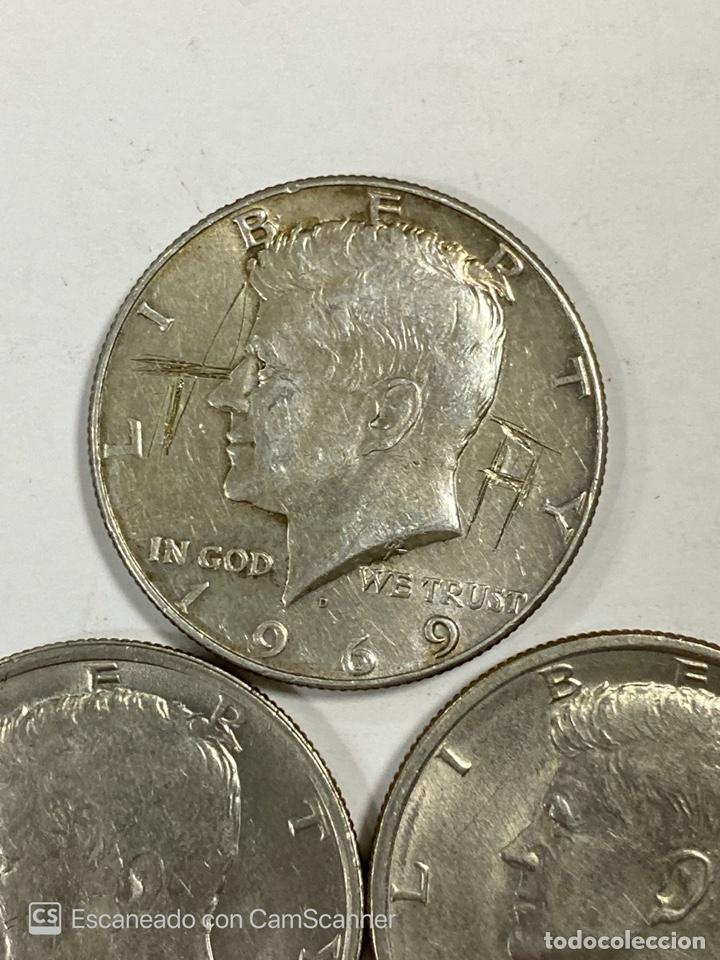 Monedas antiguas de América: LOTE DE 21 MONEDAS. EEUU. MEDIO DOLAR. HALF DOLLAR. DEL AÑO 1969 AL 1979. EBC+. VER FOTOS Y LEER. - Foto 4 - 212332870