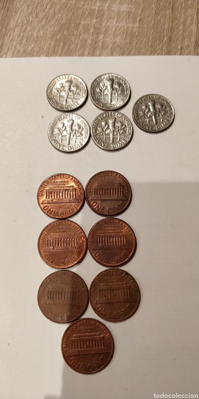 Monedas antiguas de América: Lote monedas USA - Foto 6 - 213433186