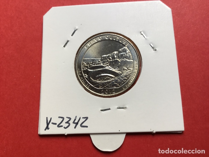 X-2342 )EEUU,,1/4 DOLAR 2012,,D,, CHACO CULTURA ,,EN ESTADO NUEVO SIN CIRCULAR (Numismática - Extranjeras - América)