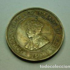 Monnaies anciennes d'Amérique: 322,, RARA ESCASA MONEDA DE JAMAICA. 1 PENNY NICKEL 1920. MBC+. Lote 213819452