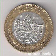 Monedas antiguas de América: MONEDA DE 50 NUEVOS PESOS DE MÉJICO DE 1994. BIMETÁLICA. INTERIOR PLATA. ARO COBRE. EBC. (ME1226). Lote 214107662