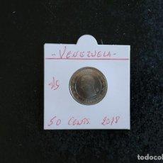 Monete antiche di America: VENEZUELA 50 CENTS. 2018 S/C. Lote 248057000