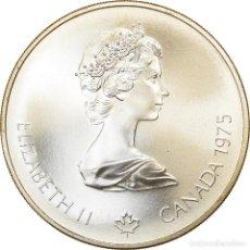 Monedas antiguas de América: MONEDA, CANADÁ, ELIZABETH II, 5 DOLLARS, 1975, ROYAL CANADIAN MINT, OTTAWA. Lote 214370297