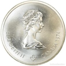 Monedas antiguas de América: MONEDA, CANADÁ, ELIZABETH II, 10 DOLLARS, 1974, ROYAL CANADIAN MINT, OTTAWA. Lote 214386375