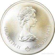 Monedas antiguas de América: MONEDA, CANADÁ, ELIZABETH II, 10 DOLLARS, 1975, ROYAL CANADIAN MINT, OTTAWA. Lote 214386477