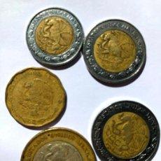 Monedas antiguas de América: ¡¡LIQUIDACIÓN!! MONEDAS DE MÉXICO. Lote 214950645
