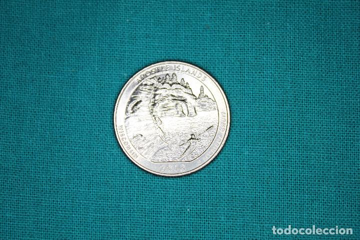 Monedas antiguas de América: Estados Unidos 4 monedas sin circular - Foto 3 - 216712082